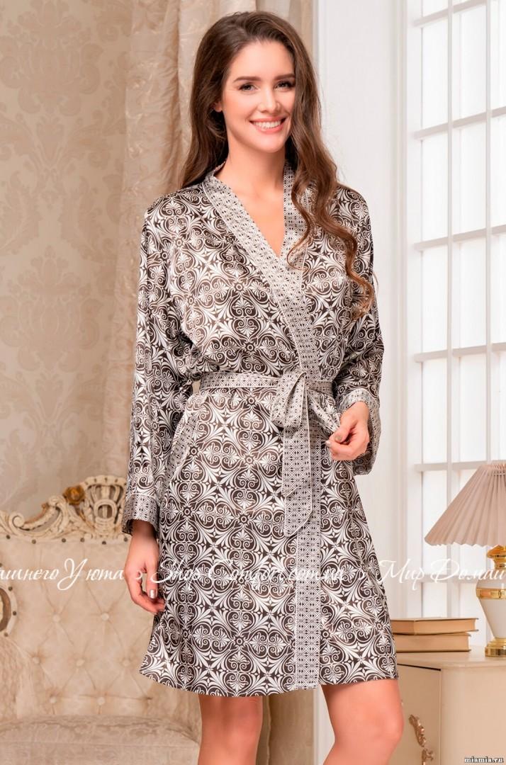 159961785c9c Халат Mia-Mia Патриция 8413 62602 купить в магазине Женских халатов ...