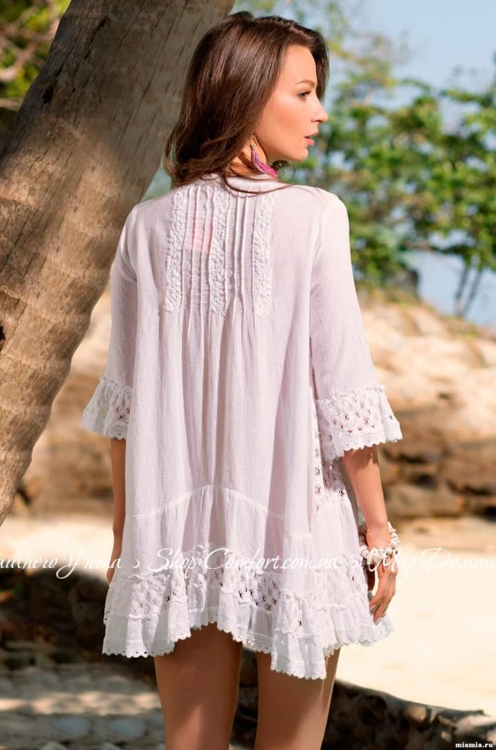 d9389e50a53 Туника Mia-Mia Санта-Моника 6895 белый 62574 купить в магазине ...