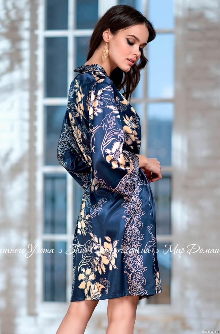 87d9277c71a8 Халат Mia-Mia Блюмарин 8443 62585 купить в магазине Женских халатов ...