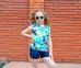 Очки Gymboree Радуга для девочек малиновый 3
