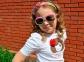 Очки Gymboree Радуга для девочек малиновый 1
