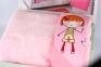 Постельное белье для новорожденных с пледом Hobby City Girl розовый 2