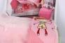 Постельное белье для новорожденных с пледом Hobby City Girl розовый 3
