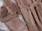 Набор халат с полотенцем и тапочками Marie Claire Jaina brown 0