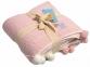 Плед детский вязаный Betires Home Kiddy Pink 90x90 (700376) 3