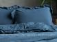 Постельное белье Limasso Dress blue exclusive евро 2