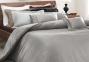 Постельное белье VALERON Crocodile (серый) сатин VIP евро 1