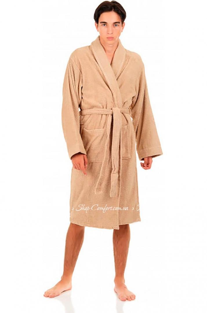 e026ea9a09a0 Мужской махровый халат Arya Miranda Soft беж 59594 купить в магазине ...