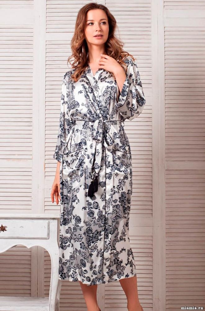 be3605eb5aee Халат Mia-Mia Paulina 8169 52039 купить в магазине Женских халатов ...