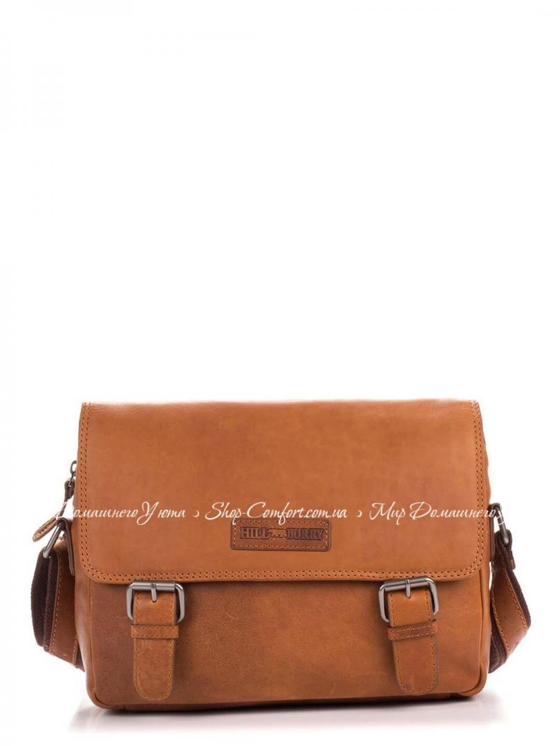 9bf8ddaae482 Мужская сумка Hill Burry 3343-brown кожаная Коричневый 51052 купить ...