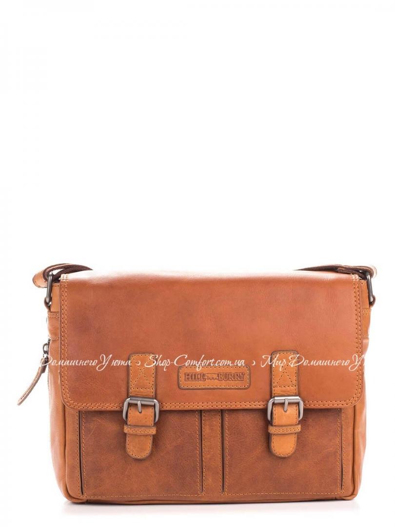 bdb0529e951f Мужская сумка Hill Burry 3382-brown кожаная Коричневый 51054 купить ...