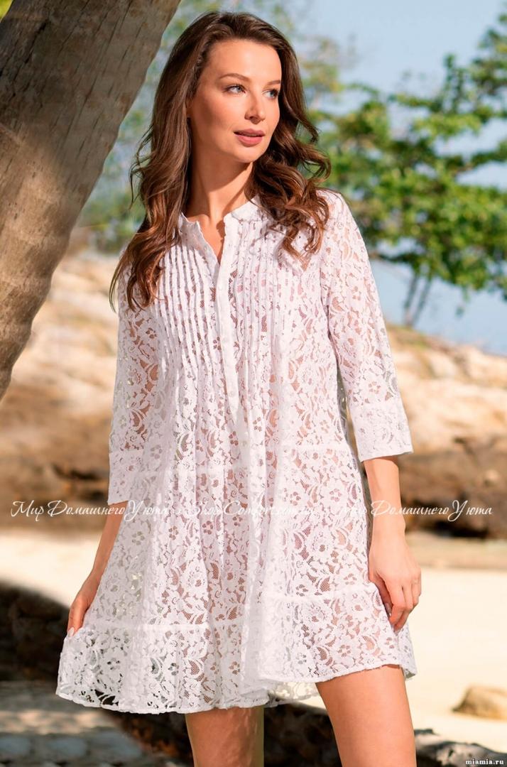 df561d046c4 Туника Mia-Mia Санта-Моника 6896 белый 62570 купить в магазине ...