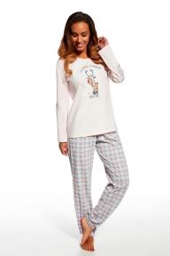 Пижама 685 - 98 Rudolf Cornette розово-серый