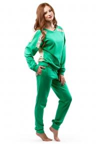 Домашний костюм 338 Effetto зеленый