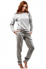 Домашний костюм 340 Effetto серый
