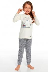 Пижама 781 - 64 Shopping Cornette бежево-синий