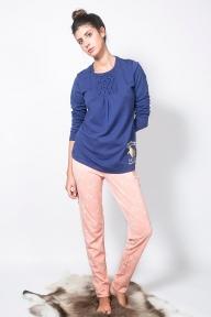 Домашний костюм 21370 Gisela голубой