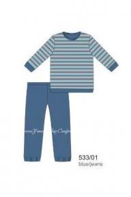 Пижама 533 - 01 Cornette 01 принт