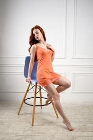 Ночная рубашка 214 Effetto оранжевый