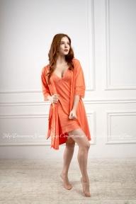Халат 217 Effetto оранжевый
