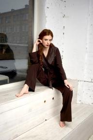 Пижама 402 Effetto коричневый