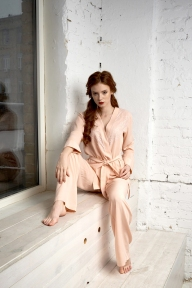 Пижама 402 Effetto розовый