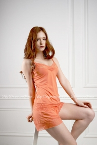 Пижама 219 Effetto оранжевый