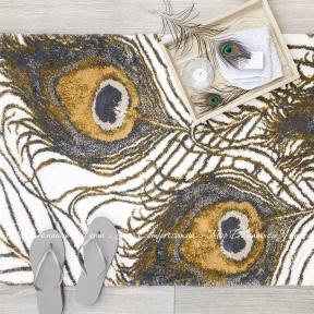 Банный коврик ABYSS & HABIDECOR Peacock