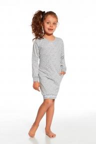 Ночная рубашка Cornette Young Girls 943 73 White bear меланжевый