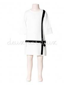 Платье Deux par Deux MBT92 для девочек черный