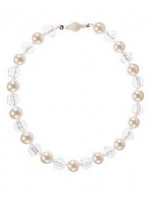 Ожерелье Gymboree для девочек белый