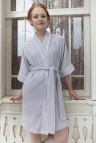 Халат женский Pavia Amelie Grey - Gri серый