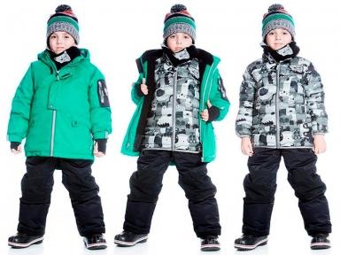 Комплект зимний Deux par Deux R827 для мальчиков 999 r827