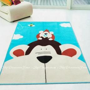 Коврик для детской комнаты Berni Monkey 100х130 (45978)