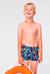 Плавки-шорты для мальчика Keyzi Sail Boats multicolor