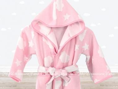 Халат Irya Cloud розовый