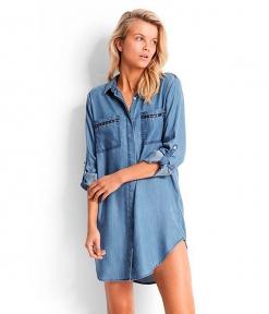 Рубашка Seafolly 53084-CU джинс