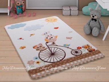 Детский ковер Confetti Confetti Sunny Day white 100x150