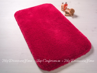 Коврик для ванной комнаты Confetti Miami red 80x140