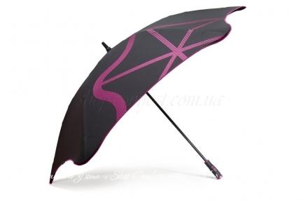 Зонт Blunt Golf G2 черно-розовый