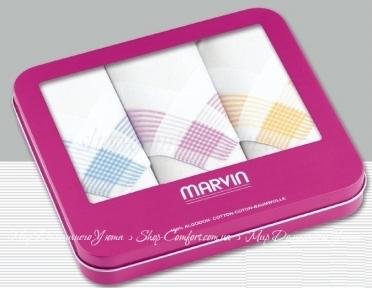 Носовые платки MARVIN Pink Box 01