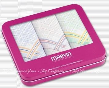 Носовые платки MARVIN Pink Box 02