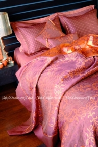Постельное белье с покрывалом VALERON Luxus сатин VIP евро
