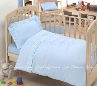 Детское постельное белье DiBenedetto San Gallo голубое