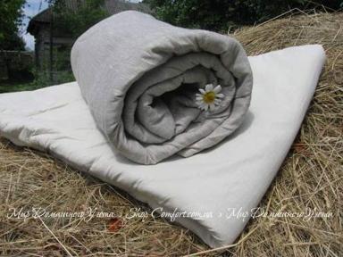 Льняные одеяло Lintex с льняной тканью
