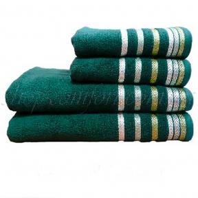 Полотенце махровое Shamrock Bianna (зеленый) 50х90