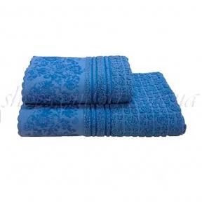 Полотенце махровое Shamrock Hellen (синий) 50х90