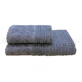 Полотенце махровое Shamrock Hellen (серый) 50х90