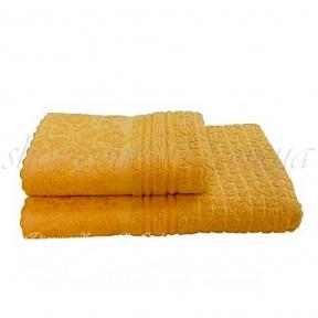 Полотенце махровое Shamrock Hellen (желтое) 50х90
