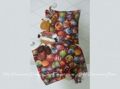 Декоративная наволочка Hosner Рождественские шары
